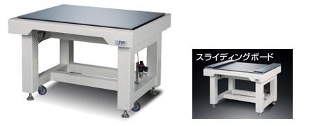デスク型高性能三次元空気ばね防振台(除振台)